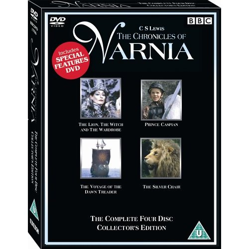 The Chronicles Of Narnia 4 DVD Box Set